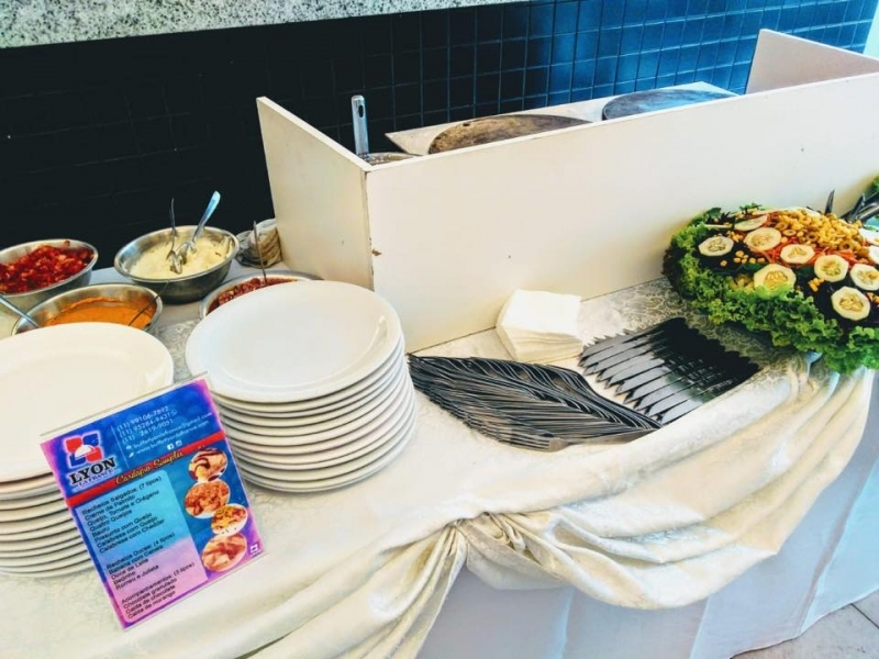 Buffet de Crepe Francês para Festa Infantil Valores Guaianases - Crepe Francês Buffet a Domicílio