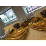 buffet de crepe casamento preço Jardim das Acácias