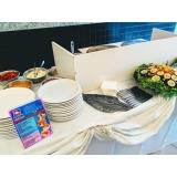 buffet de crepe francês para festa infantil valores Vila Anastácio