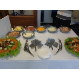 buffet de crepe francês para festa infantil Água Branca