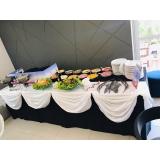 buffet de crepe para chá de bebê Itaim Paulista
