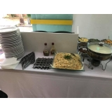 crepe para evento Alto do Boa Vista