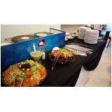 quanto custa buffet de crepe para 100 pessoas Vila Clementina